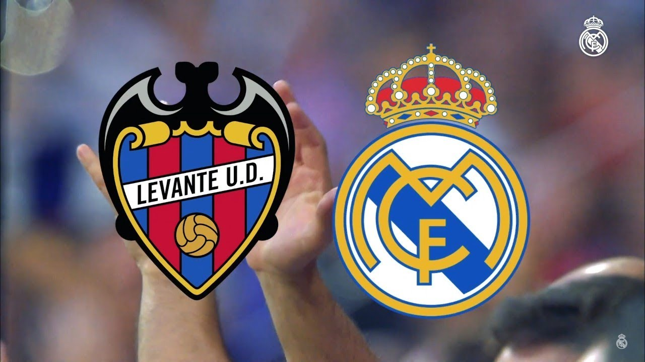 25. Spieltag: Levante vs Real Madrid 1 - 2