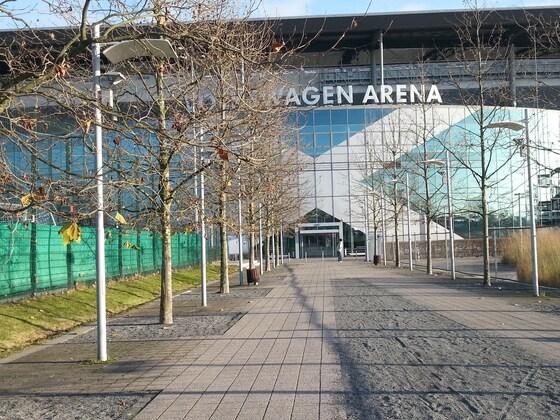 07.12.2014 Volkswagen Arena Wolfsburg