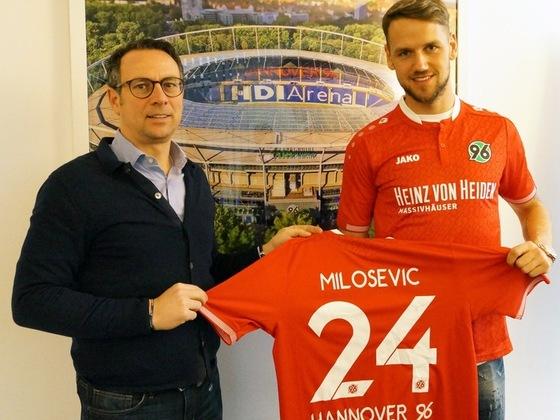 H96: Martin Bader und Alexander Milosevic