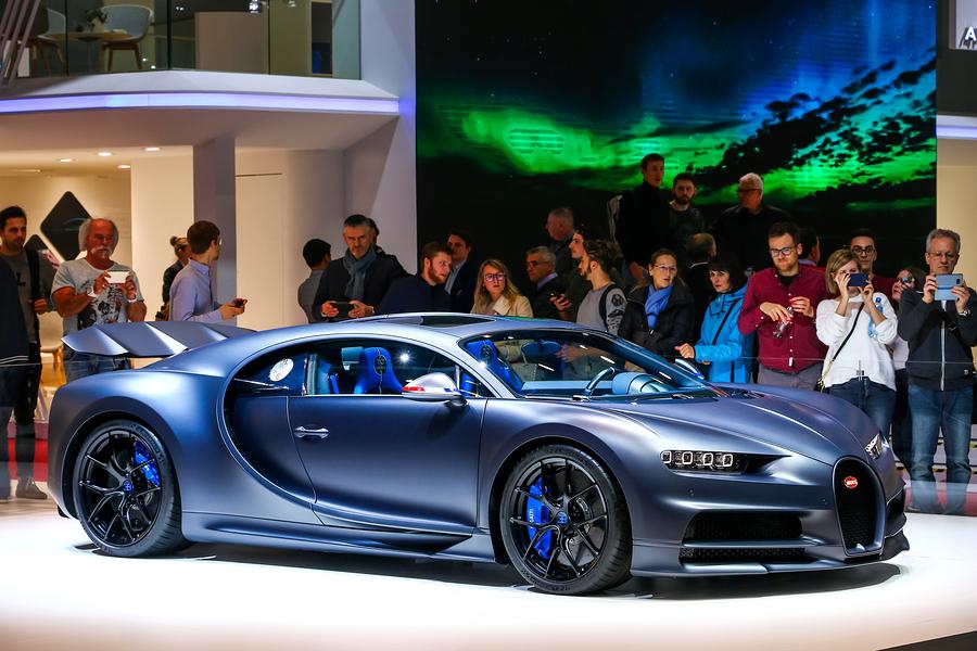 Luxury hypercar 110 Ans Bugatti
