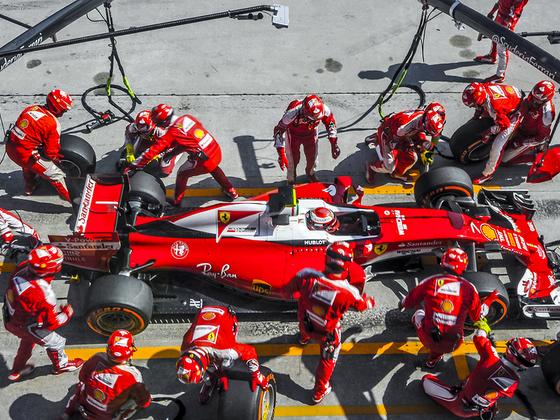 Kimi Raikkonen SEPANG MALAYSIA  SEPTEMBER 28 - 2017  Formula One F1