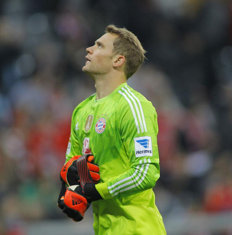 Keeper Manuel Neuer Bayern München