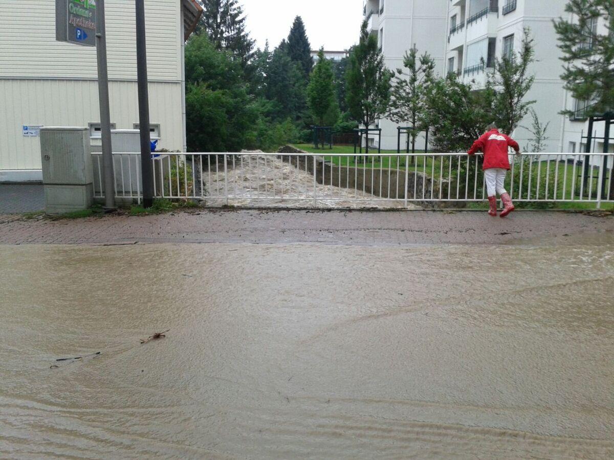 Bad Harzburg Hochwasser am 26. Juli 2017
