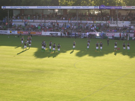 Werder Bremen gegen Ajax Amsterdam