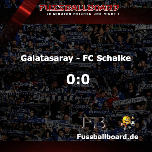 Galatasaray gegen FC Schalke