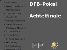 DFB-Pokal Achtelfinale 2018/2019