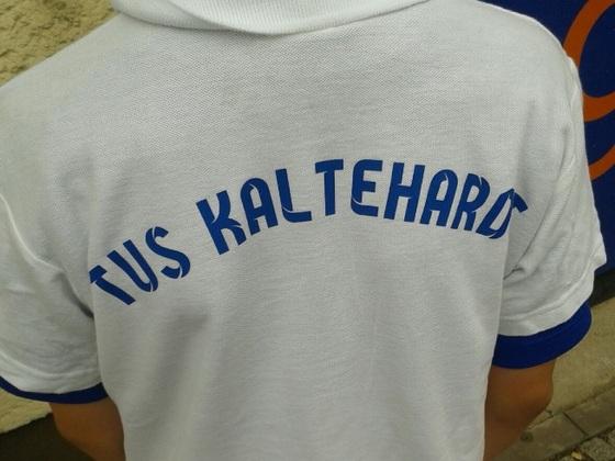 Sohnemann sein Poloshirt von TuS Kltehardt