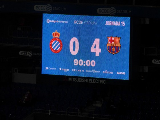 2018/19: RCD Espanyol - FC Barcelona
