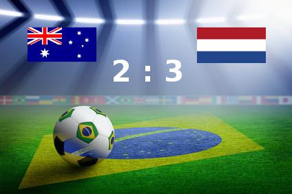 Holland gewinnt 3:2 gegen Australien