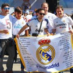 Fans von Real Madrid
