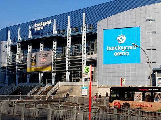BarcleyCard Arena Hamburg