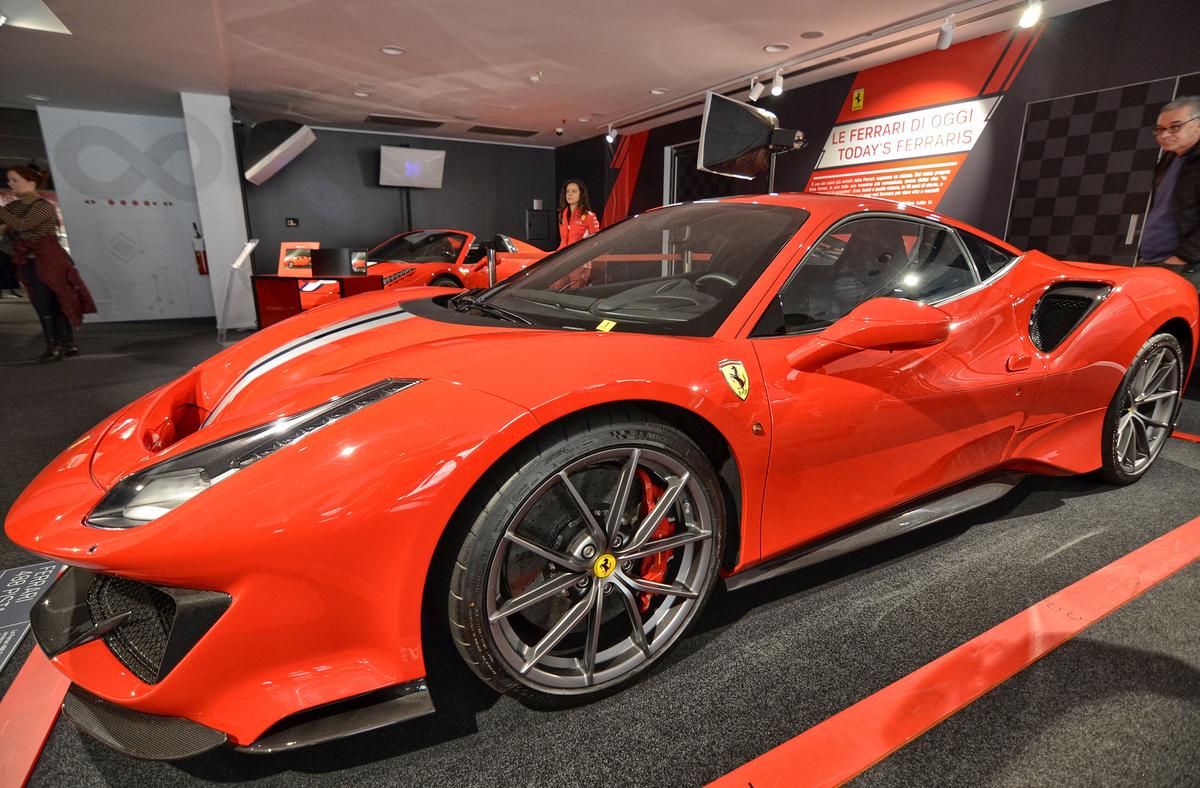 Maranello, Emilia Romagna, Italy. At the Ferrari museum