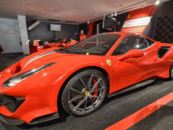 Maranello, Emilia Romagna, Italy. At the Ferrari museum
