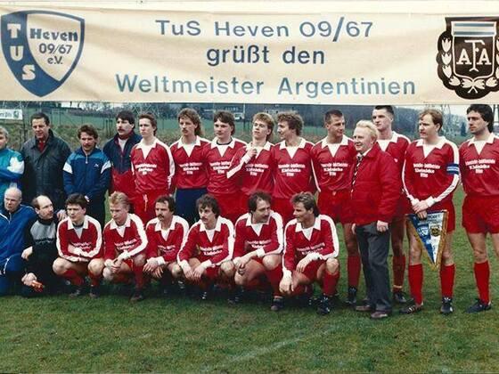 Argentinien gegen TuS Heven 09 (1988) Bild 2