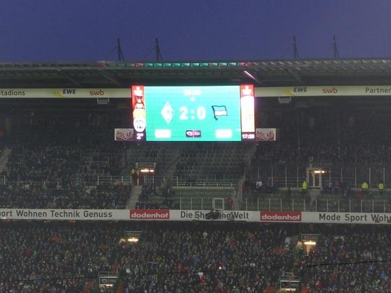 Saison 14/15, Spieltag 18 WERDER-Hertha, Bild 4