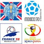 Alle WM Logos seit 1954