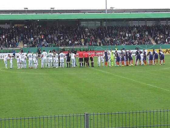 DFB-Pokal 2016/17 Lotte - WERDER