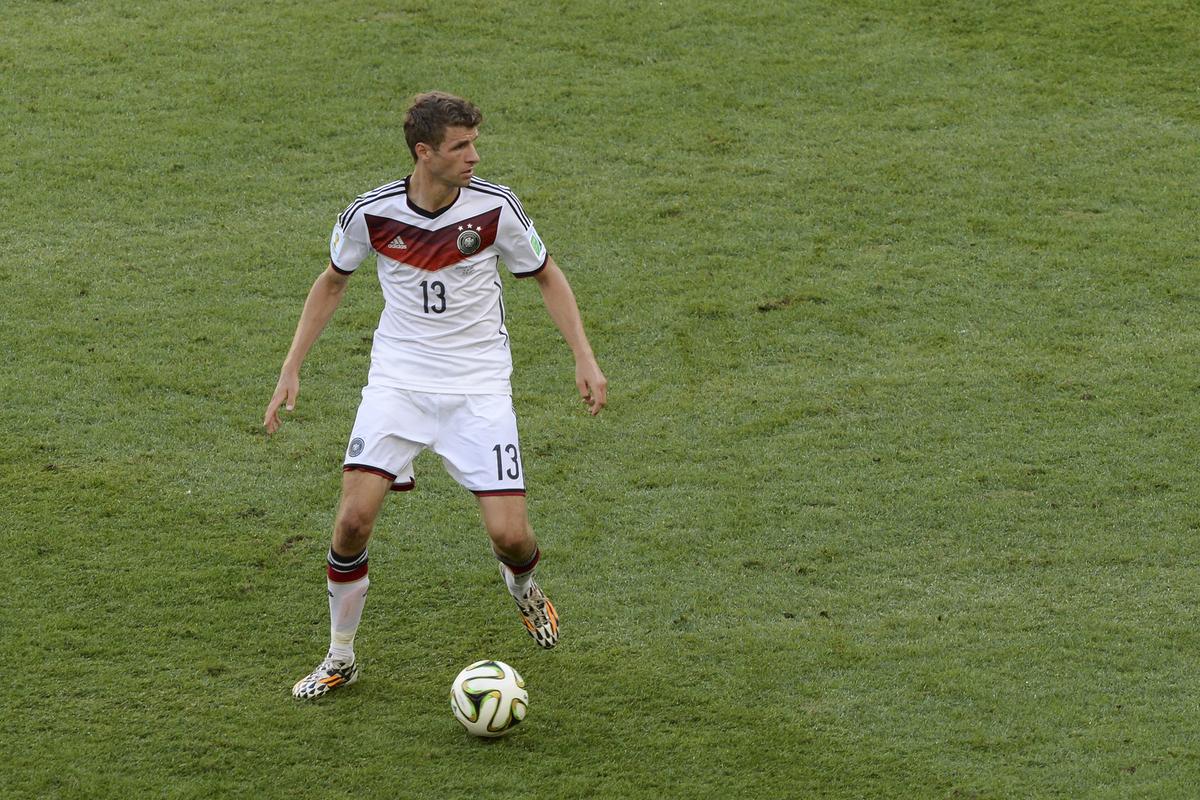 Thomas Müller WM 2014