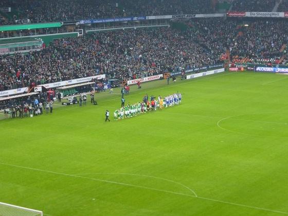 Saison 14/15, Spieltag 18 WERDER-Hertha, Bild 2