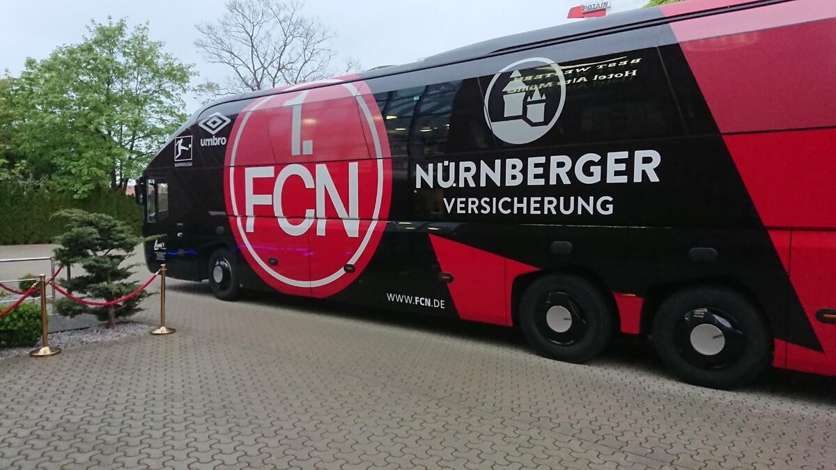 Nürnberg in Wolfsburg