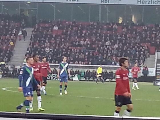 06.12.2014 Hannover 96 vs. VfL Wolfsburg 3