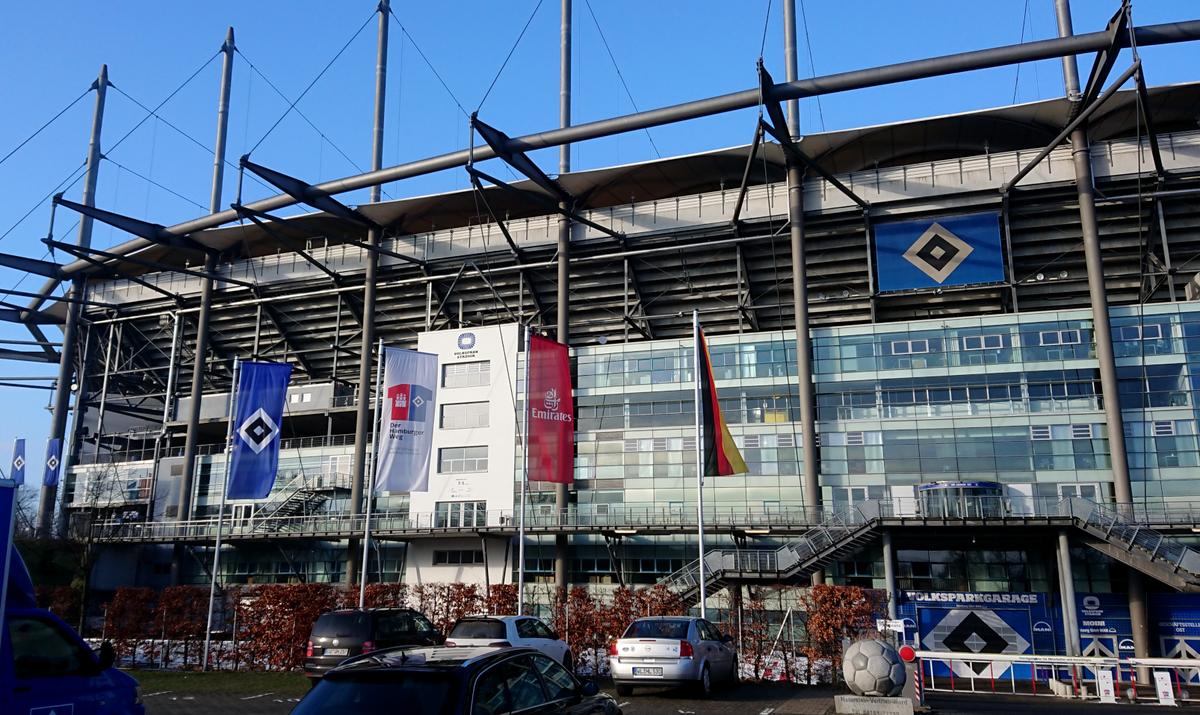 HSV Volksparkstadion Hamburg