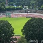 Stadion Rote Erde aus 70 Meter Höhe