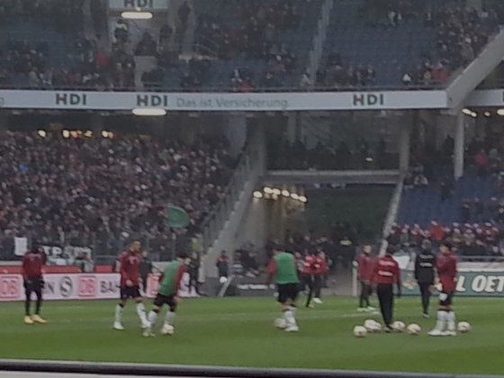 06.12.2014 Hannover 96 vs. VfL Wolfsburg 2