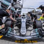 Valtteri-Bottas-Of-Finland SEPANG MALAYSIA  SEPTEMBER 30 2017  The Mercedes team