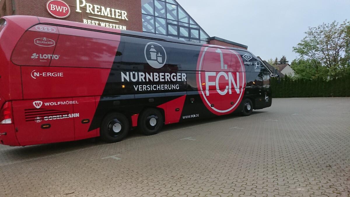 FC Nürnberg in Wolfsburg