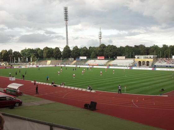 Steigerwaldstadion, Rot-Weiss Erfurt - Stuttgart II 3:1