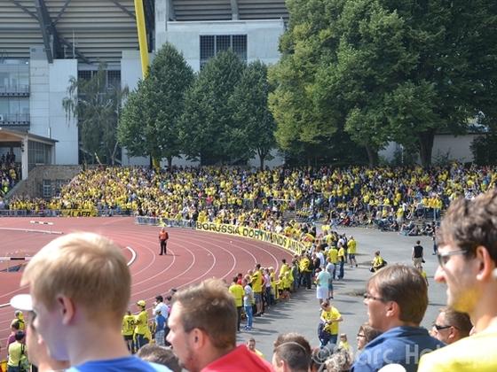 BVB II - Jahn Regensburg 5:1 (9.8.2014)