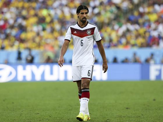 Sami Khedira WM 2014 in Brasilien