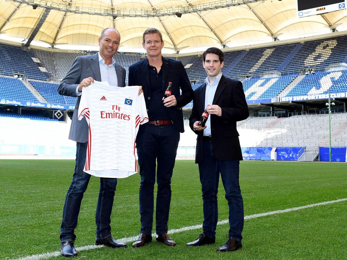 HSV verlängert Partnerschaft mit Coca-Cola