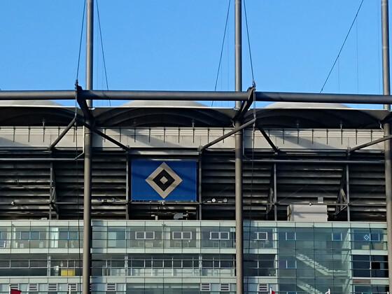 Hamburg Stadion Fußball HSV