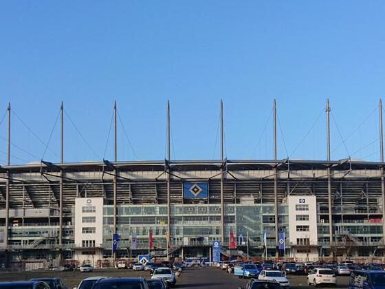Hamburg Fußball Stadion Volkspark